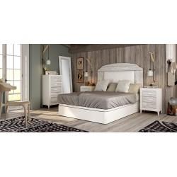Dormitorio de matrimonio Blanco/Artic