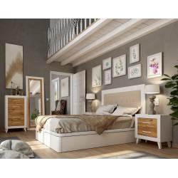 Dormitorio matrimonio Blanco/Mango